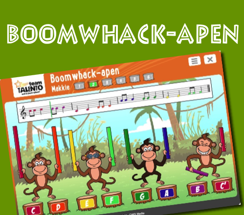 Boomwhack-apen